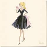 Barbie™, Midnight Mischief Stretched Canvas Print by Robert Best