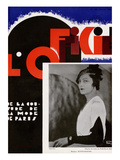 L'Officiel, February 1932 - Mme Ruffo Proven Print by Madame D'Ora & A.P. Covillot