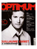 L'Optimum, April-May 2001 - Guillaume Caret Premium Giclee Print by Marcel Hartmann
