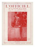 L'Officiel, March 15 1922 - Paul Poiret Poster by  Lipmtzki