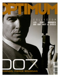 L'Optimum, December 1999-January 2000 - Pierce Brosnan Premium Giclee-trykk