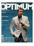 L'Optimum, April-May 2002 - Bryan Ferry Est Habill en Gucci, Montre Polex Julisteet tekijn Benoit Peverelli
