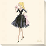 Barbie™, Midnight Mischief Stretched Canvas Print by Robert Best