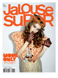 Jalouse, March 2009 - Madisyn Ou Theodora Richards Affiche par Ami Sioux & Paul Schmidt