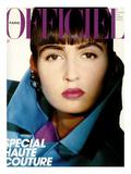 L'Officiel, September 1985 - Yves Saint Laurent Posters by George Holz