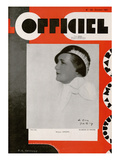 L'Officiel, October 1931 - Mme Simone Posters by Madame D'Ora & A.P. Covillot
