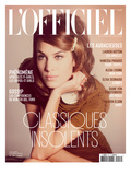 L'Officiel, August 2010 - Alexa Chung Art par Guy Aroch