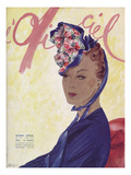 L'Officiel, May 1941 Prints by  Lbenigni