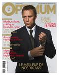 L'Optimum, December 2006-January 2007 - Daniel Craig Est Habillé Par Brioni, Montre Omega Plakater
