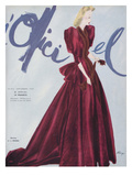 L'Officiel, September 1939 - L. Mendel Premium Giclee Print by  Lbenigni