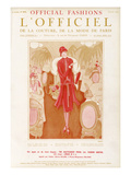 L'Officiel, July 1925 Prints by  Premet