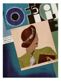 L'Officiel, February 1934 - Blanche et Simone Posters by Lbengini & A.P. Covillot