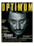 L'Optimum, septembre 1998 : Johnny Hallyday en couverture Affiches par André Rau