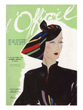 L'Officiel, October 1935 - Violette Marsan Posters by  Lbenigni