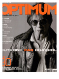 L'Optimum, November 2000 - Jacques Dutronc Art by Jean-Marie Perier