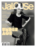 Jalouse, February 2009 - Dakota Fanning Premium Giclee Print by Keiron O'Connor