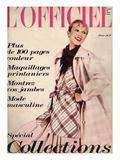 L'Officiel, 1973 - Cinq Tendances de La Mode de Printemps dans Ce Modèle d'Emanuel Ungaro Prints by Roland Bianchini