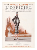 L&#39;Officiel, October 1924 - Chamb&#233;ry Posters by  Worth