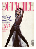 L'Officiel, September 1991 - Louis Féraud Prints by Peter Hônnemann