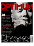 L'Optimum, September 2002 - Paul Newman Premium Giclee Print by Bruce Oavidson