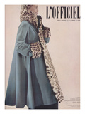 L'Officiel, Special Issue - Ensemble de Jacques Fai Lainage de Lajoin Art by Philippe Pottier