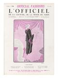 L'Officiel, June 1925 - Fleur Étrange Poster von  Drecoll