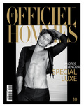 L&#39;Officiel, Hommes December 2007 - Andres Velencoso Posters par Milan Vukmirovic