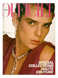 L&#39;Officiel, March 1985 - St&#233;phanie de Monaco Prints by  Zigmund