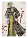 L'Officiel, August 1936 - Marcel Rochas Posters by J. H. Lartogue