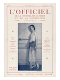 L'Officiel, July 15 1922 - Jean Patou, Candide Posters by Henri Manuel