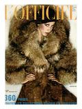 L'Officiel, September 1971 - Christian Dior Print by  Guégan