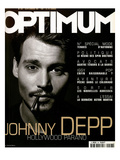 L'Optimum, September 1999 - Johhny Depp Art by Patrick Swirc
