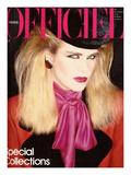 L'Officiel, September 1981 - Yves Saint Laurent Premium Giclee Print by Antonio Guccione