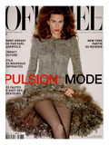 L'Officiel, September 2002 Prints by Marcus Mâm