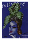 L'Officiel, February 1946 - Chapeaux d'Hiver, Tissus de Printemps Posters by  Benito