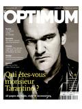 L'Optimum, December 2003-January 2004 - Quentin Tarantino Habillé Par Lv Affiches par Patrick Swirc