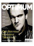 L&#39;Optimum, December 2003-January 2004 - Quentin Tarantino Habill&#233; Par Lv Prints by Patrick Swirc