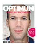 L&#39;Optimum, June 2006 - Zin&#233;dine Zidane Print by Martin Schoeller