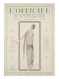 L'Officiel, August 15 1922 - Soir d'Été Prints