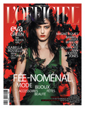 L'Officiel, December 2011 - Eva Green Prints by Satoshi Saikusa
