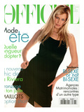 L'Officiel, June 1995 - Claudia Schiffer Plakat af Francesco Scavullo