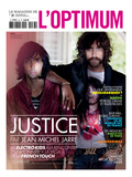 L'Optimum, November 2011 - Le Duo Justice, Xavier De Rosnay Premium Giclee Print by Stefano Galuzzi