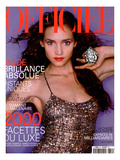 L'Officiel, December 1999 - Le Plus Beau Diamant du Monde de De Beers, Au Creux de La Main de Lida Posters by Greg Delves