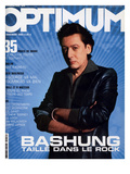 L'Optimum, November 2002 - Alain Bashung Print