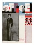 L'Officiel, January 1932 - Comtesse de La Falaise Premium Giclee Print by Madame D'Ora & A.P. Covillot