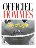 L'Officiel, Hommes June 2009 - Jesus Luz Posters av Milan Vukmirovic