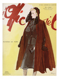 L'Officiel, December 1939-January 1940 - Worth Prints by  Lbenigni