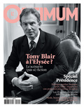 L'Optimum, April 2007 - Tony Blair Premium Giclee Print by Lorenzo Agius