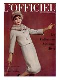 L'Officiel, September 1960 - Tailleur en Lanvin Castillo en Ninotchka de Ducharne Posters by  Arsac