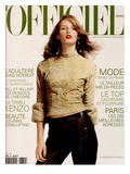 L'Officiel, October 1999 - Vivien Solari Posters by Josh Jordan